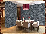 Modernes Chinesisch brick-pattern 3D Tapete Simulation Vintage Restaurant, Internet-Caf ¨ ¦ BARM-Eintopf grün Wall Paper 2