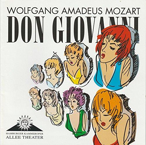 Programmheft DON GIOVANNI. Oper von Wolfgang Amadeus Mozart. Premiere 29. Oktober 2008