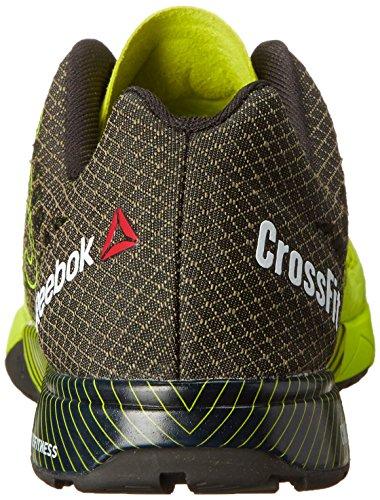 Reebok Crossfit Nano Shoe 5.0 Formazione Semi Solar Yellow/black/flat Grey