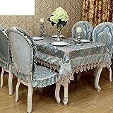 fwerq Europäische Minimalismus moderner TV-Schrank Tisch Tischdecke Tee Tabelle, Wärmedämmung pad-A 140 x 180 cm (55 x 71 Zoll)