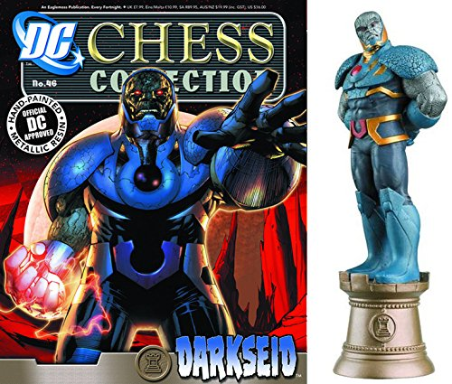 DC Comics - Figuras de Ajedrez de Resina DC Comics Chess Collection Nº 46 Darkseid