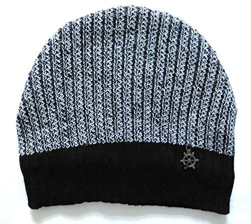 Sylan's Men's Woollen winter Skull Cap Grey  available at amazon for Rs.299
