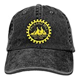 EJjheadband Twin Peaks Packard Mill Unisex Adult Adjustable Denim Dad Cap
