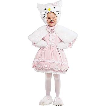 Costume di Carnevale da GATTINA Lusso Vestito per Bambina Ragazza 1-6 Anni  Travestimento Veneziano Halloween Cosplay Festa Party 53161 Taglia 4 387fc5f0455