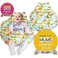 Unico 4in 1Premium cotone cuscino da allattamento con free mini cuscino e bambino imbracatura