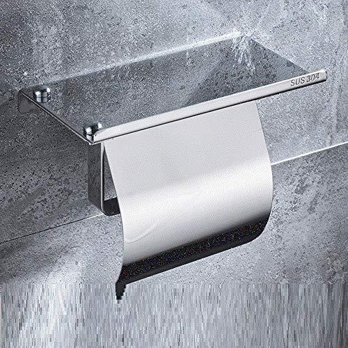 Toilettenpapierhalter 304 Edelstahl Handy Papierhandtuchhalter Bad Lagerung Rollenhalter Locher A Modelle Mit Licht Mit Abdeckung