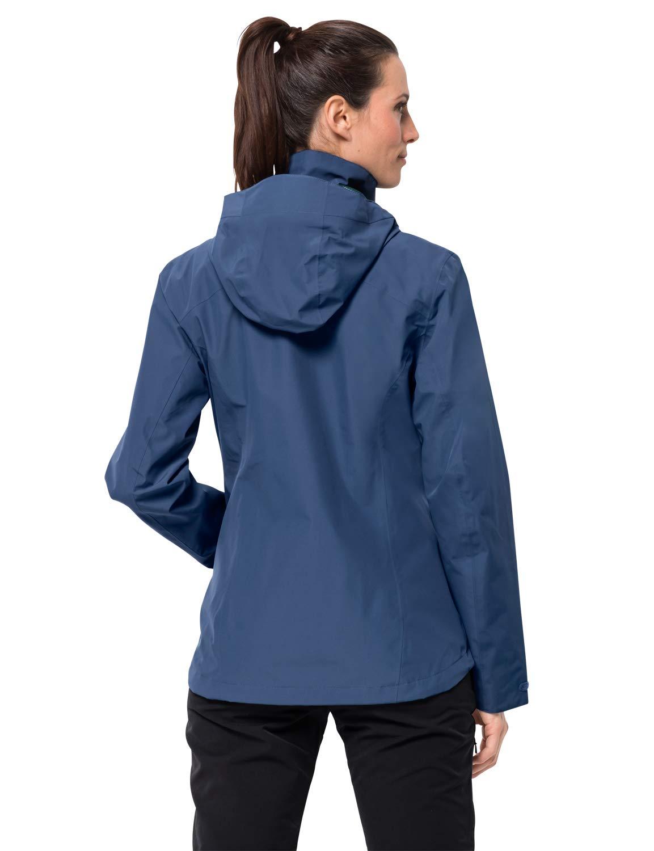 61O5bAzYxLL - Jack Wolfskin Women's Evandale Hardshell Jacket