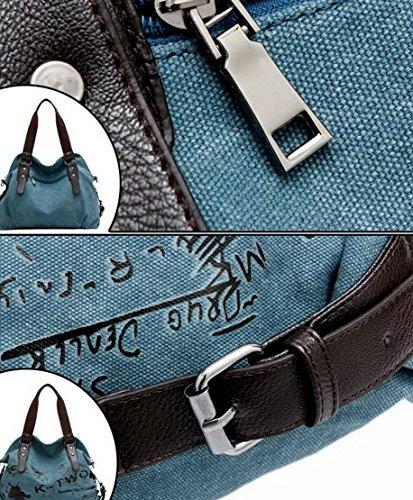 Panegy, Borsa a spalla donna, blu (Blu) - YHBG0297 blu