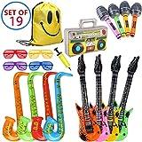 Best KAKA Backpacks For Kids - MI KAKA Inflatable Instruments Rock Star Toy Set Review