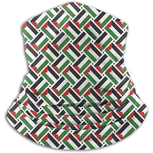 Calentador De Cuello Polaco Palestina Armadura De Bandera Máscara Facial A Prueba De Viento para Snowboard...