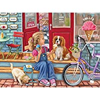 Bits and Pieces - 300 Piece Jigsaw Puzzle for Adults - Payday Cones - 300 pc Ice Cream Jigsaw by Artist Brooke Faulder