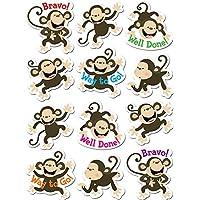 Creative Teaching Press CTP4121 Monkeys Stickers