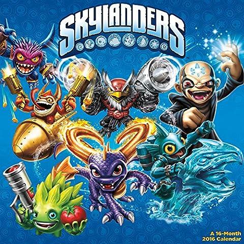 Skylanders 2016 Calendar