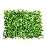 parete artificiale del pannello delle coperture del muro di parete del faux verde falso schermi di riserva esterni pannello verde pannello decorazione esterna del traliccio di yunhigh