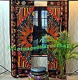 Baumwolle Mandala Vorhänge indischen Celtic Wand-2Vorhängen Volants-Schal Hippie