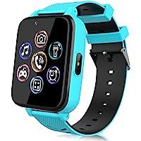 Smartwatch für Kinder, Uhr Telefon für Mädchen Jungen Touchscreen mit Musik Player, Spiel, Kamera, Taschenlampen, Wecker…