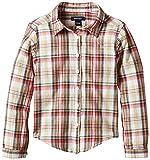 GANT Mädchen Bluse D, Madras Shirt, Gr. 122 (Herstellergröße: 122/128), Grün (Sage 316)