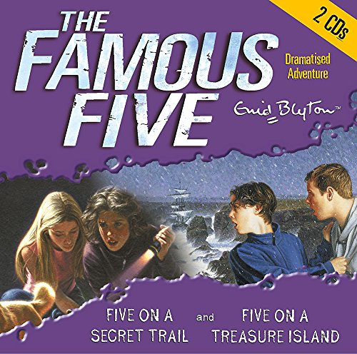 Five On Treasure Island & Five On a Secret Trail (Famous Five)