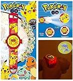 Goodies Pokemon Pikachu Montre De Projection Numérique 20 Images Différentes