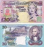 Gibraltar - 1995 £20 Sammlerbanknoten (Unzirkuliert)