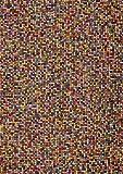 Tapis népalais Moderne Couleur Multi Taille Environ 120 cm