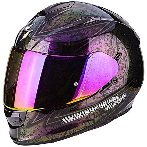 Scorpion Exo 510fantasy camaleonte nero casco moto