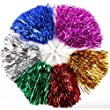 1 Pair Straight Handle Cheerleading Pom Poms, Price/2 Pieces, 0.025 KG/Piece, 6 Colors to Choose