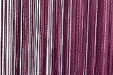 Fadenvorhang Türvorhang 90x250 cm oder 140x250 cm Fadengardine verschiedene uni Farben