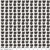 Unbekannt Riley Blake Baumwolle Stoff–Meter Katzen