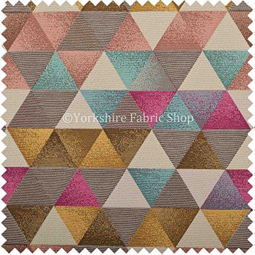exclusivo-tela-geometrico-patron-de-diamante-azul-rosa-y-blanco-color-chenilla-tapiceria-suave-tela-