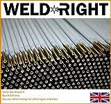 Weldright Allgemeiner Zweck E6013 Arc Schweißelektroden Ruten 1.6mm x 50 Ruten
