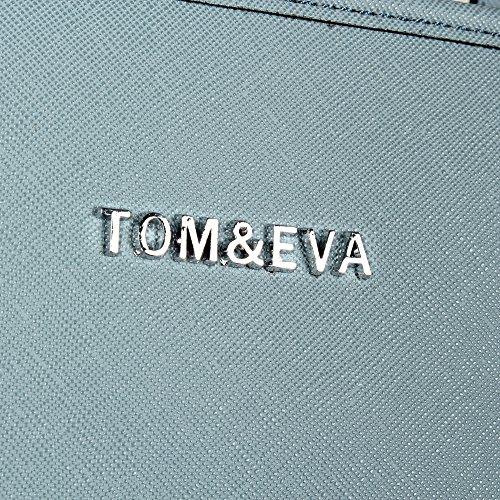 Tom & Eva, Borsa a tracolla donna Blue (Deep Sky)