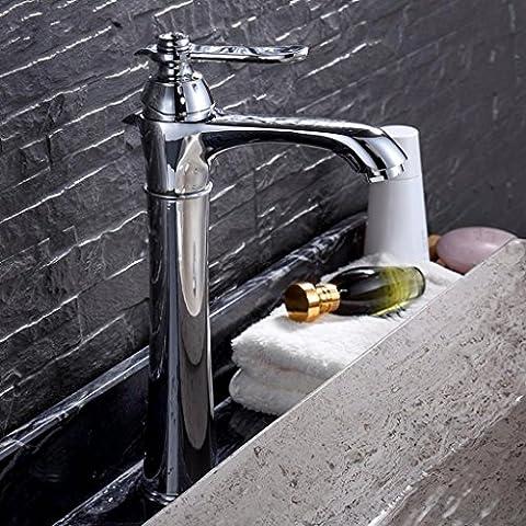 WP- All-in rame fase del rubinetto del bacino rubinetto del bacino caldo e freddo alta - piede rubinetto del bagno