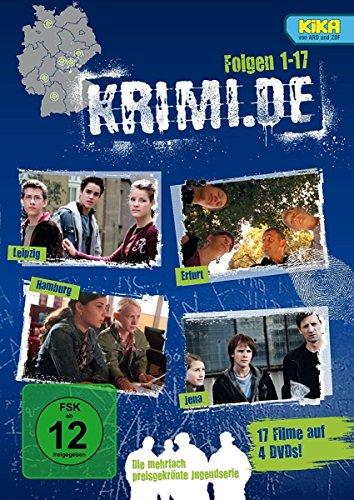 Krimi.de, Folgen 1 - 17 [4 DVDs]