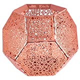 Tom Dixon - Kerzenleuchter, Kerzenständer, Teelichtständer - Etch - Farbe: Kupfer - Dots