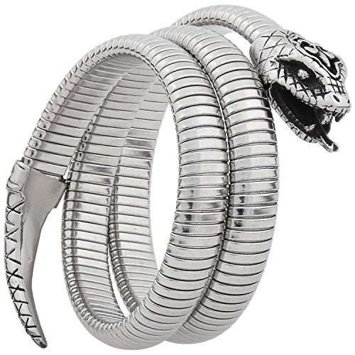 FILANGO® Edelstahl Schlangenarmband 10 mm 45 cm Länge