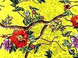 Floral Print Rialto Stretch Satin Crepe Kleid Stoff