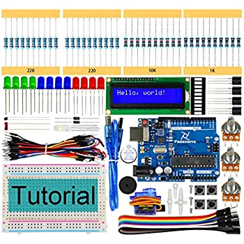 Freenove LCD 1602 Starter Kit with R3 Board (Compatible