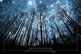 Close Up Imagination Poster Baum & Sternenhimmel (91,5cm x 61cm)