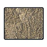 Pastinaca Fries Sand design Gaming Mouse pad personalizzato panno nero rettangolo antiscivolo mouse Art mouse in gomma naturale con bordi cuciti