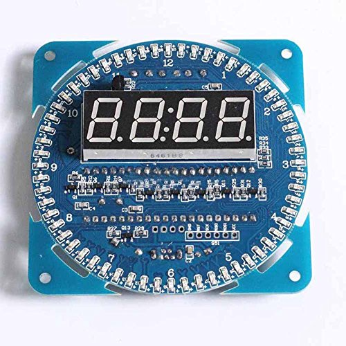 Hrph DS1302 Rotierende LED-Anzeigen-Wecker-Modul LED-Temperaturanzeige