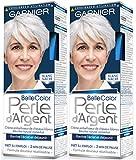 Garnier-Belle Color-Perla D' argento-Crema déjaunisseur Lucentezza Capelli Bianchi Bianco-bianco madreperla-Set di 2