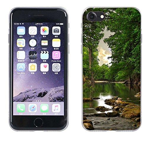 Apple iPhone 7 Custodia Cover, Fubaoda Silicone Caso [super luna] Molle di TPU Cristallo Trasparente Sottile Anti Scivolo Case Posteriore Della Copertura Della Protezione Anti-urto per Apple iPhone 7 pic: 22