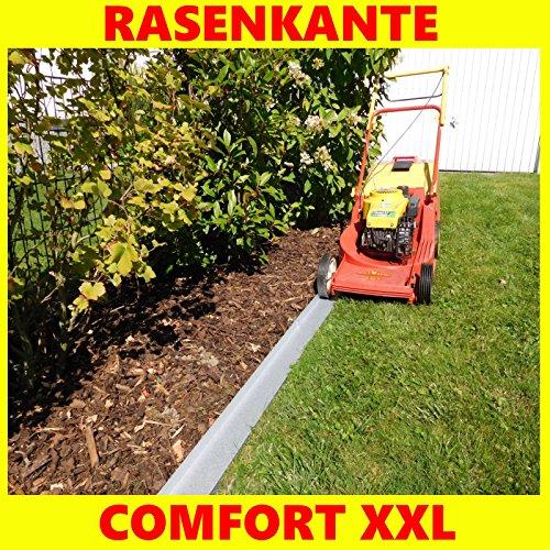 Rasenkante Comfort XXL mit einzigartiger Versteifungskante und extra breit befahrbar