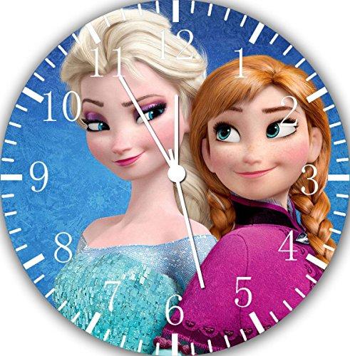 Disney Frozen Elsa Anna Wanduhr 25,4 cm Will Be Nice Gift und Raum Wand Decor W475