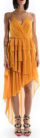 MARC ELLIS vestito corto giallo