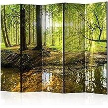 murando - Biombo - de impresion bilateral en el lienzo de TNT de calidad - Decoracion cuarto - Biombo de madera con imagen impresa - c-B-0183-z-c