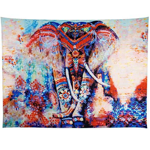 Anladia 200 x 150 cm Diseño Elefante Manta India
