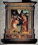 De Magistris Sigismondo Baptism Of Jesus 16Th Century Panel Italy Lombardy Varenna Como San Giorgio Parish Church (157912) Everett CollectionMondadori Portfolio Poster Print (24 x 36)
