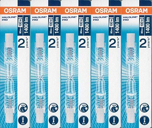 5-stuck-osram-halogenstablampe-haloline-pro-64690-r7s-230v-lange-78mm-80-watt
